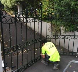 Powdercoated Gates