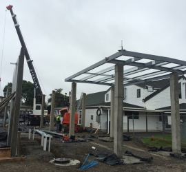 Structural Steel Residential Construction