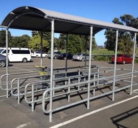 Trolley Parking handrail